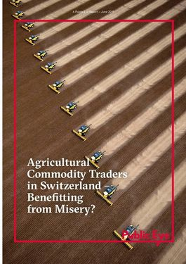 Couverture du rapport: Agricultural Commodity Traders in Switzerland