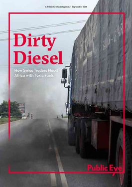 Cover page: Dirty Diesel