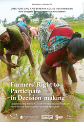 Farmers' Right to Participate in Decision-making