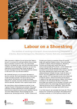 Cover page: Labour on a Shoestring