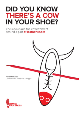 Cover page: Did you know there's a cow in your shoe?