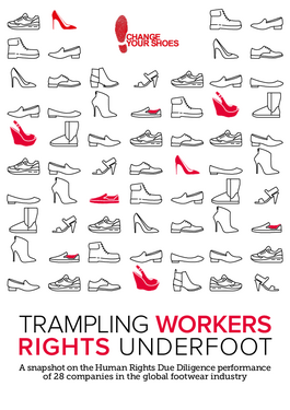 Titelbild Trampling Workers' Rights Underfoot