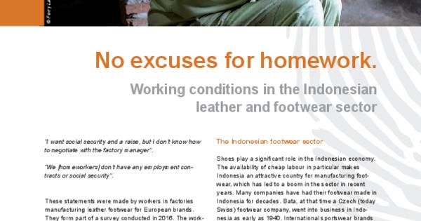 good excuses for no homework