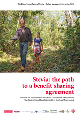 Stevia: the path to a benefit sharing agreement