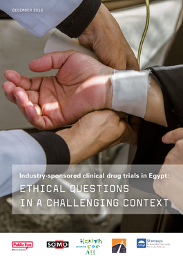 Titelbild Industry-sponsored clinical drug trials in Egypt