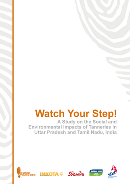 Couverture du rapport: Watch Your Step!