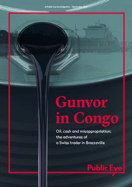 Cover page: Gunvor in Congo: Oil, Cash and Misappropriation