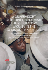 A supervisory authority to combat the regulatory lacuna in the commodities sector