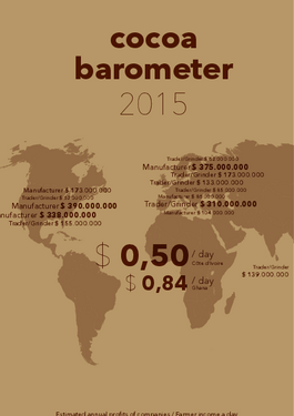 Cover page: Cocoa barometer 2015