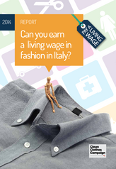 Can you earn a living wage in fashion in Italy?