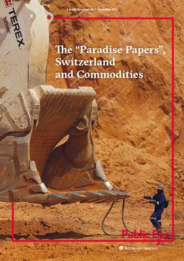 "Cover page: The ""Paradise Papers"", Switzerland and Commodities"