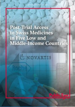 Titelbild Post-Trial Access to Swiss Medicines