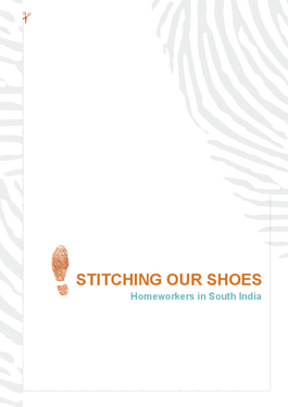 Cover page: Stitching Our Shoes