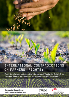 Cover page: International Contradictions on Farmers' Rights