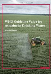 WHO Guideline Value for Atrazine in Drinking Water